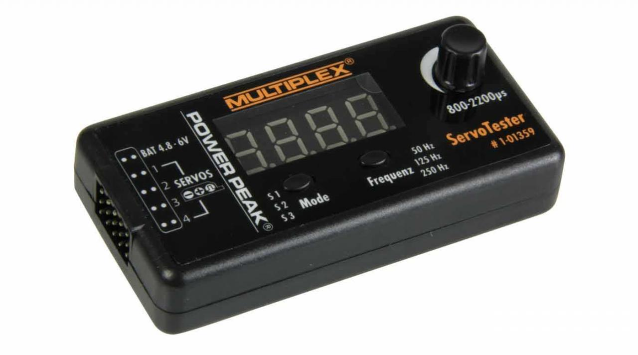 Multiplex Servotester PowerPeak 1-01359