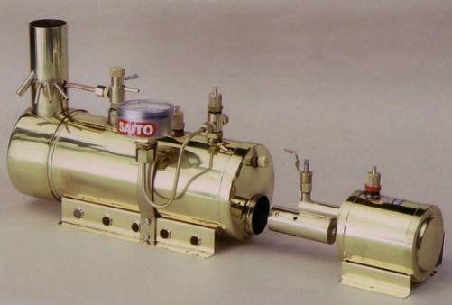 SAITO Dampfkessel und Brenner B3, AEN-713302