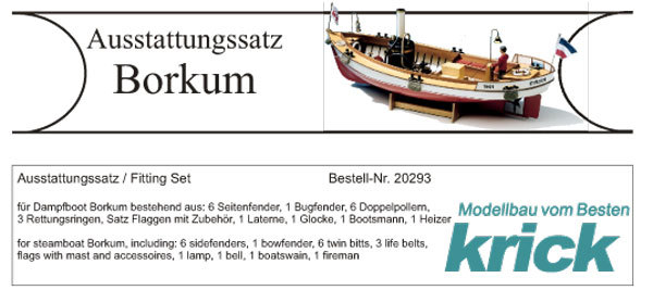 Krick Borkum dotazione tasso//20293