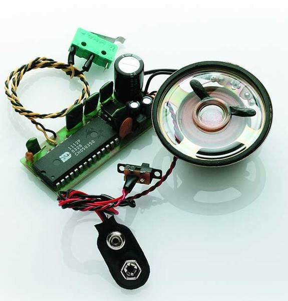 krick soundmodul klein benzin diesel motor mit horn kr 65106. Black Bedroom Furniture Sets. Home Design Ideas