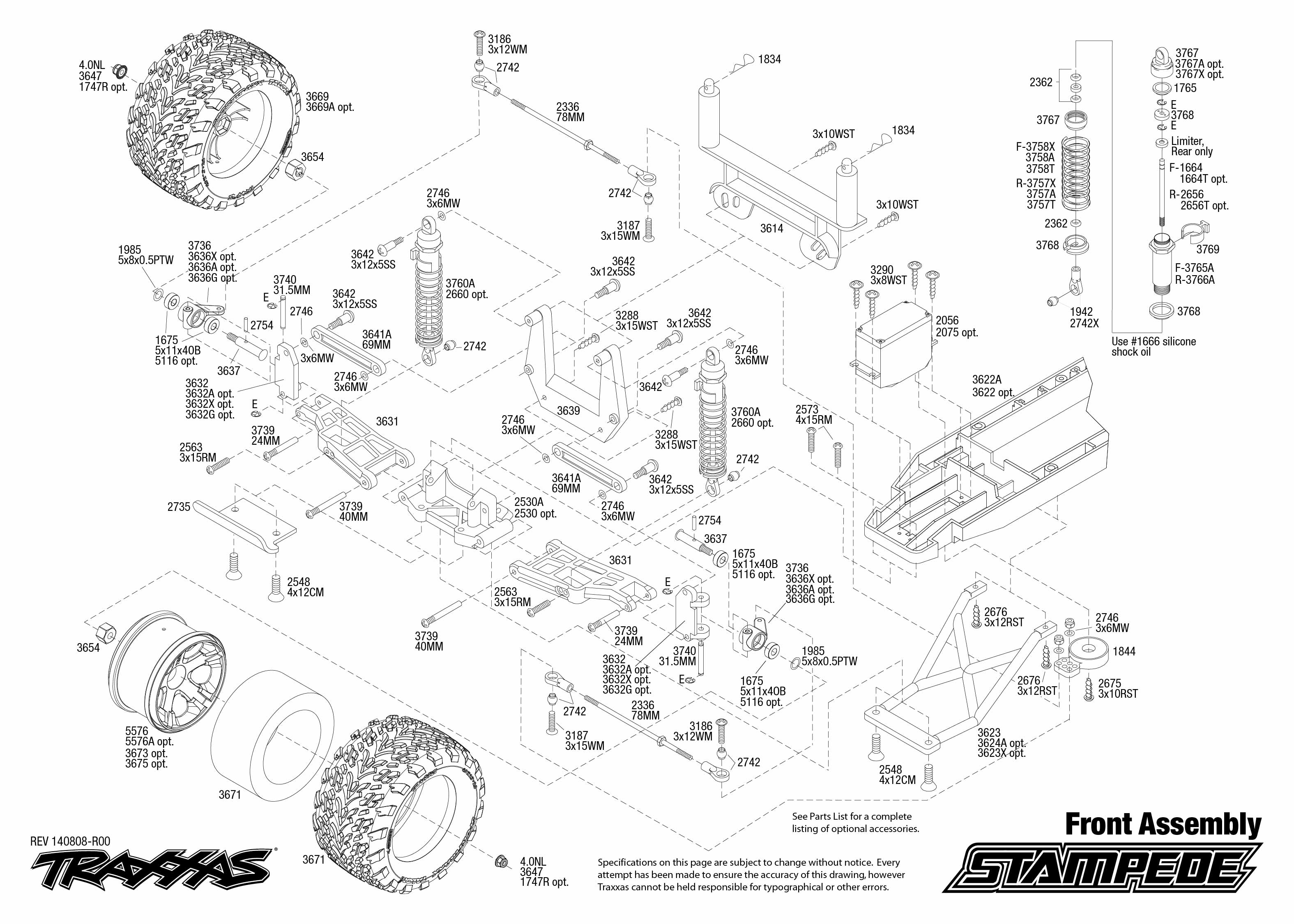 traxxas traxxas stampede xl 5 rtr  trx36054 1 traxxas slash 2wd parts exploded view traxxas slash 2wd parts list