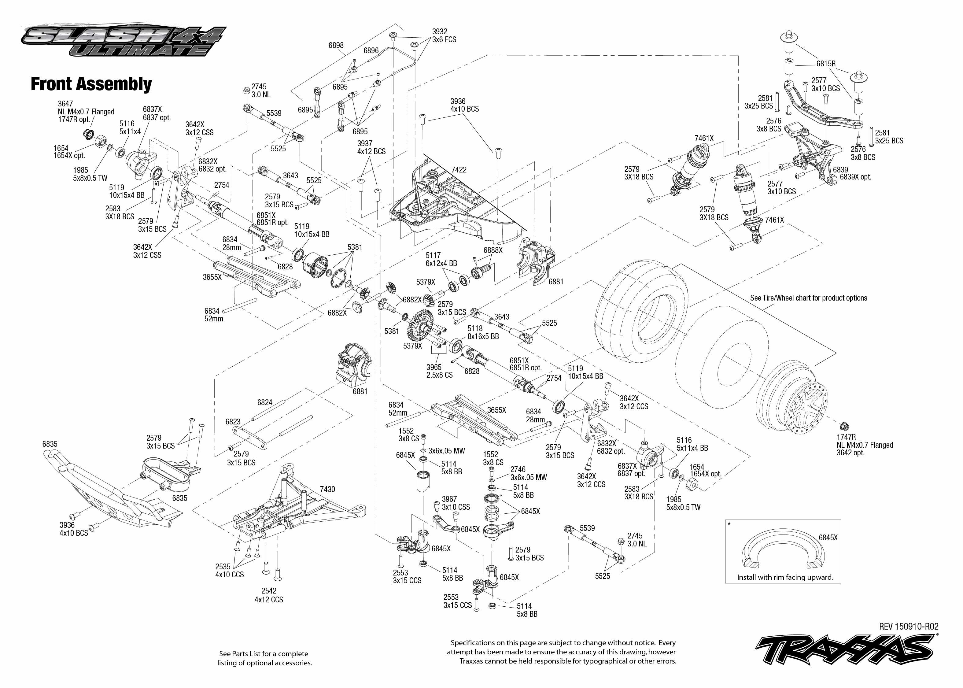traxxas traxxas slash 4x4 ultimate rtr  lcg chassis  mit
